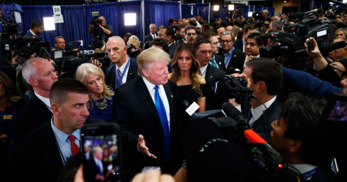Trump Wins 'most trusted' #KevinJackson