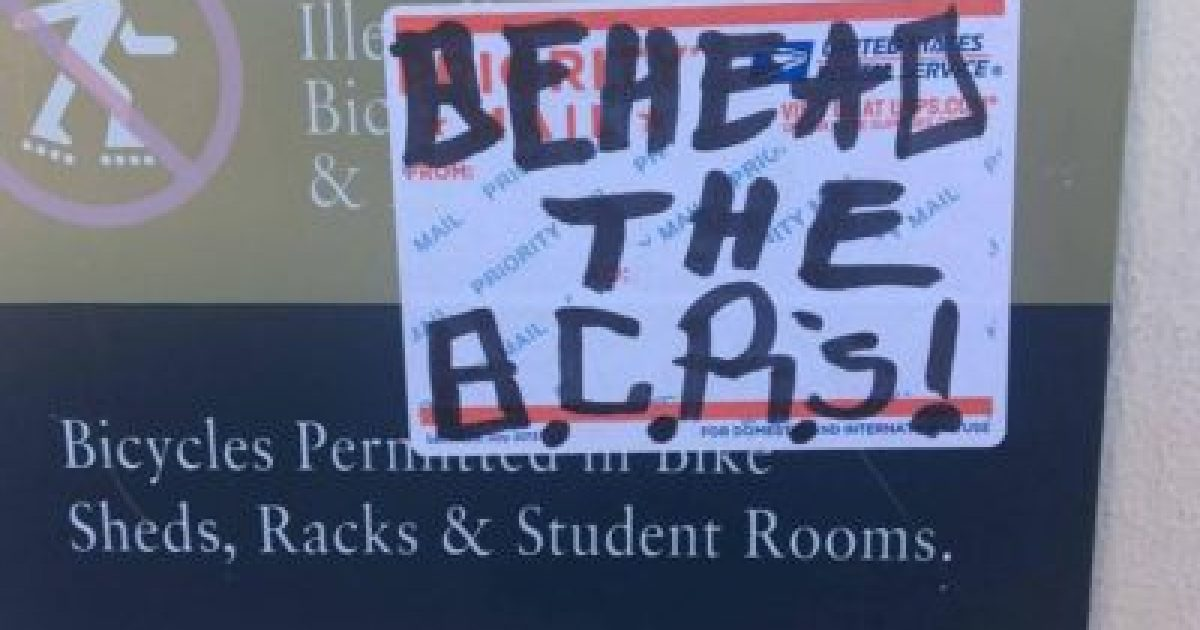 Leftists Call For the Beheadings of Berkeley College Republicans