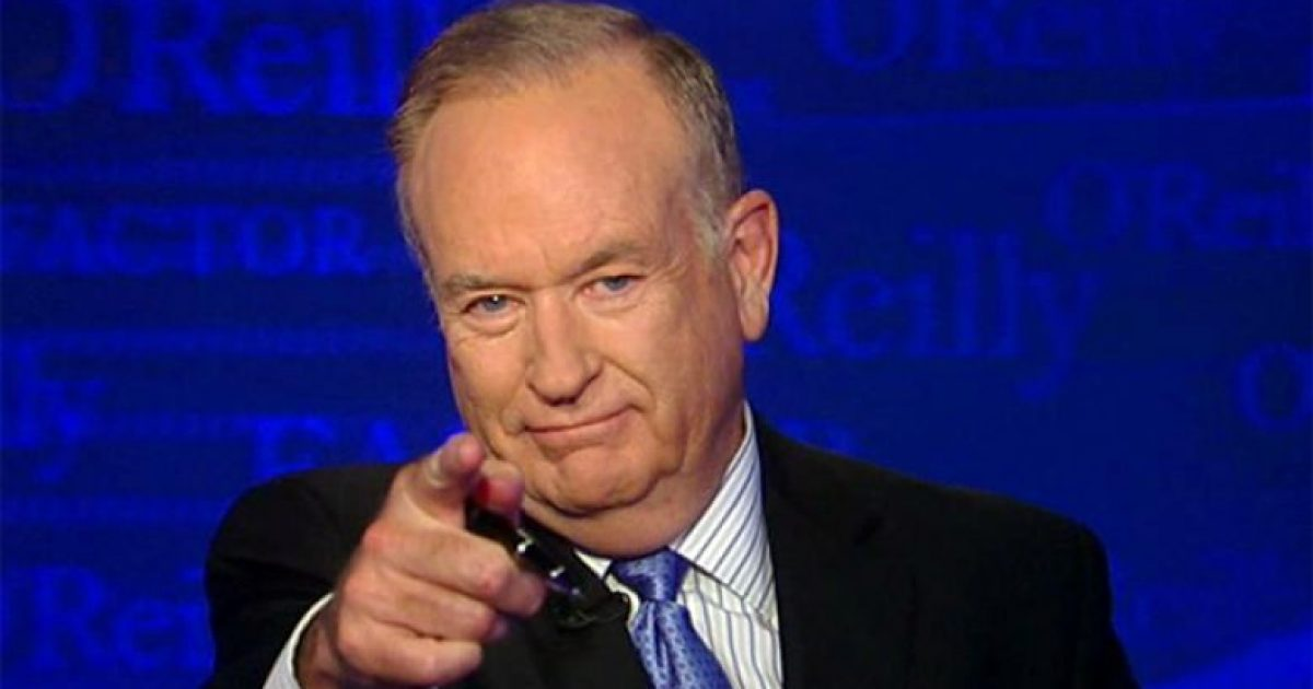 Bill Oreilly OUT at fox news