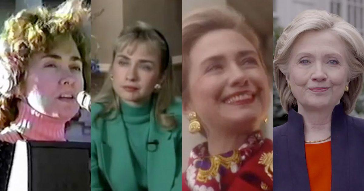 Hilarious! Hillary Clinton's fake accents..... three decades worth!