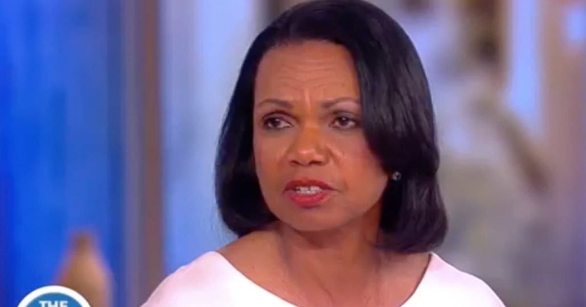 Condi Rice OWNS Trump Haters