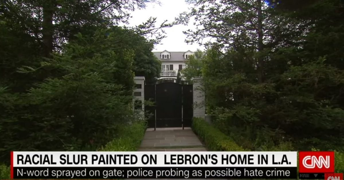 Lebron James' gate