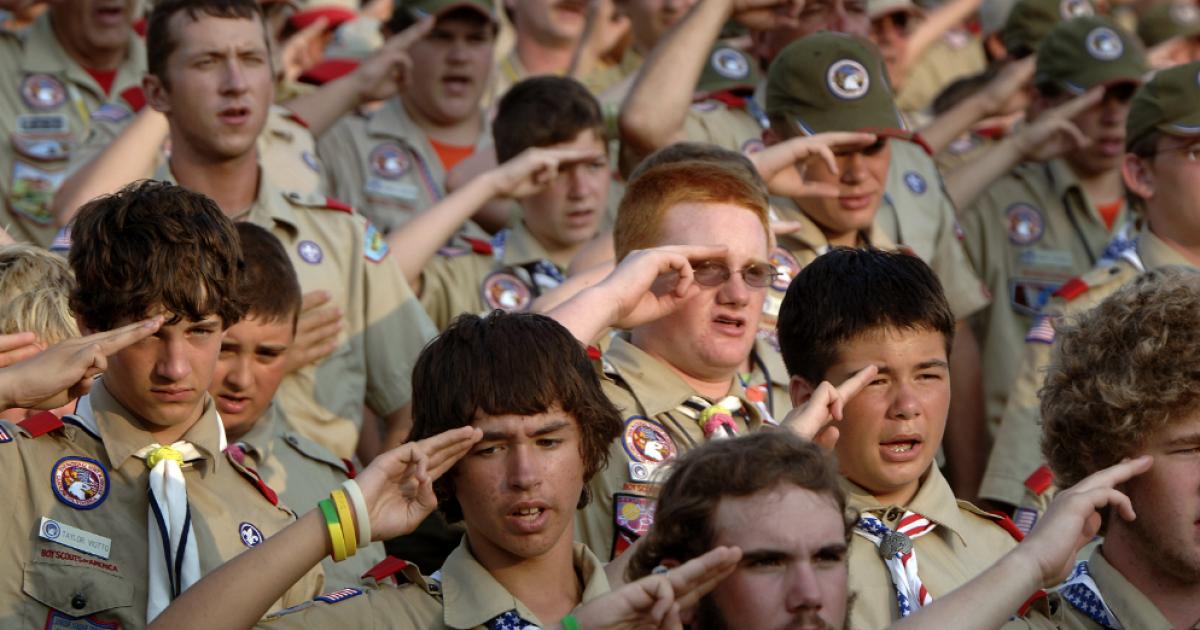 boy scouts #KevinJackson