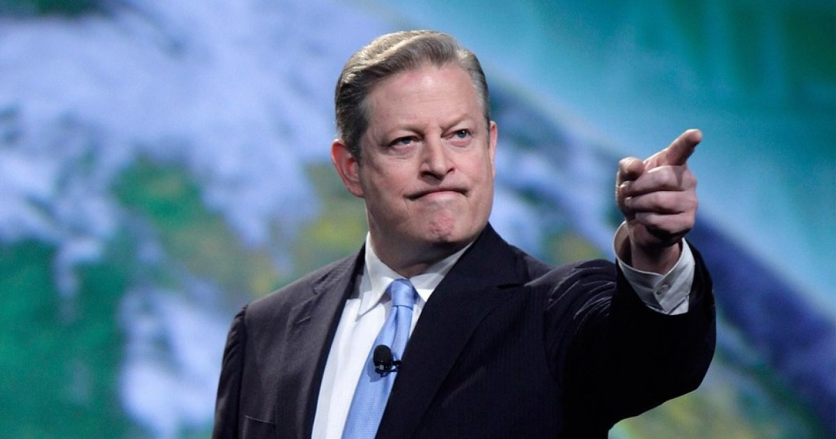 Al Gore told one too many fish tales #KevinJackson
