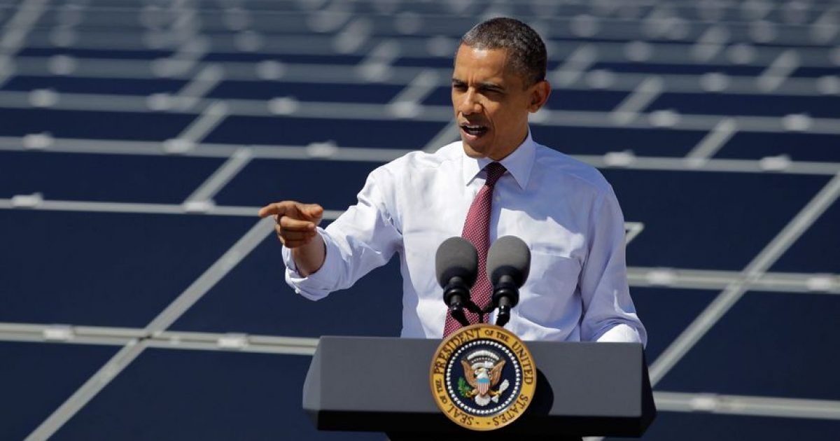 Obama green energy #KevinJackson