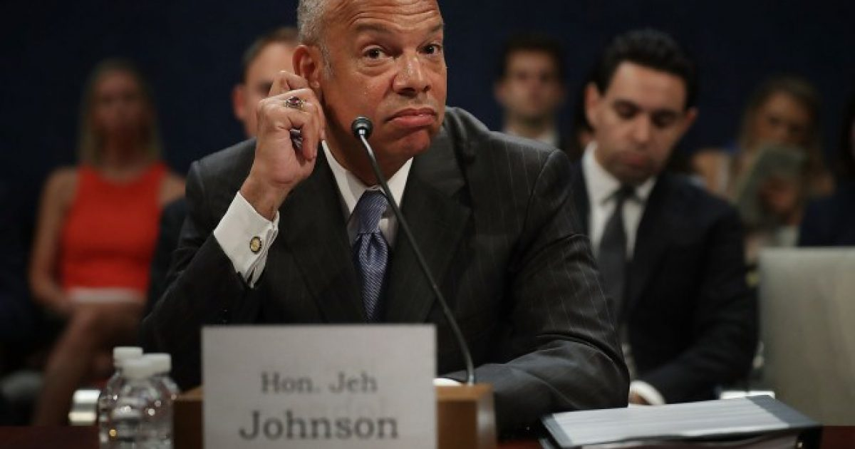 Wasserman-schultz says Jeh Johnson lied