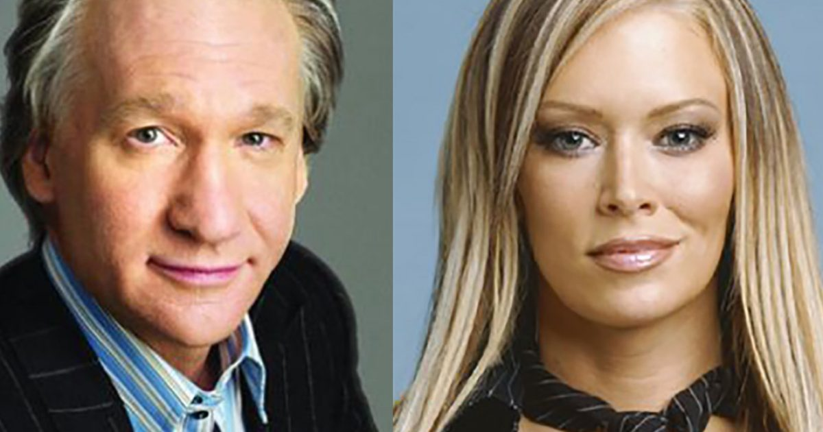 Playboy star calls out Bill Maher