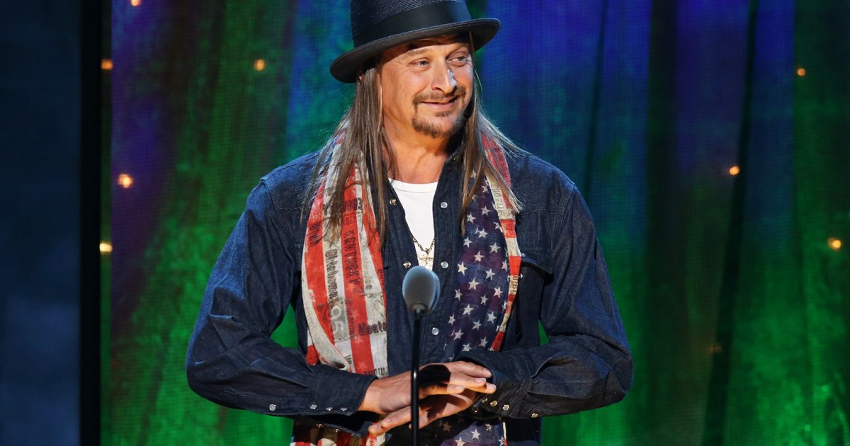 Kid Rock says running for senate is no joke #KevinJackson