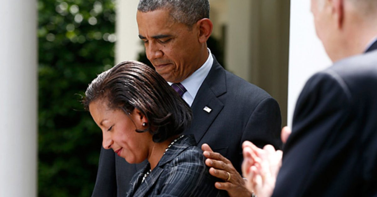 Susan Rice is tight-lipped #kevinjackson