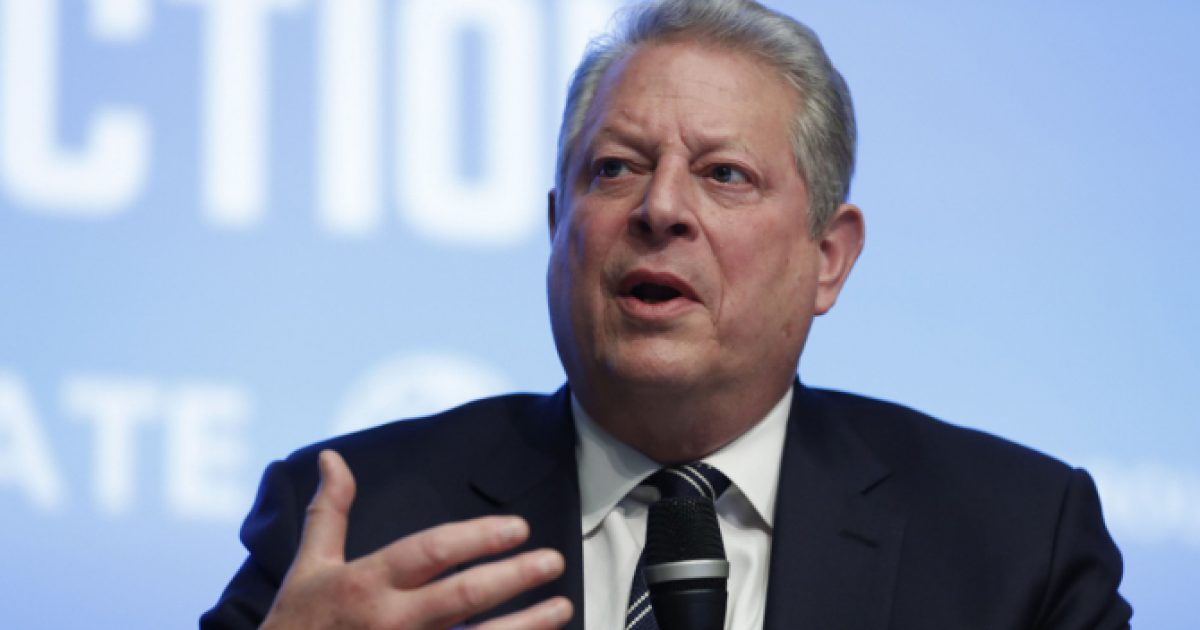 Gore compares global warming to SLAVERY