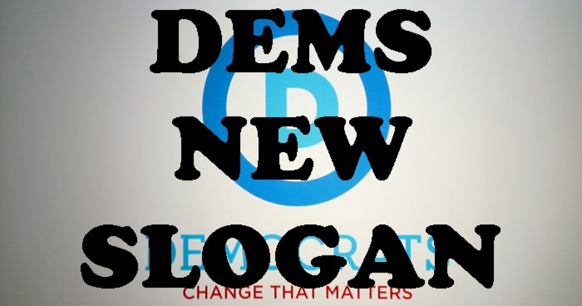 democrats' new slogan