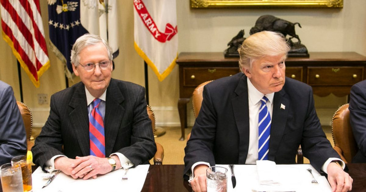 Trump outsmarts McConnell; #KevinJackson