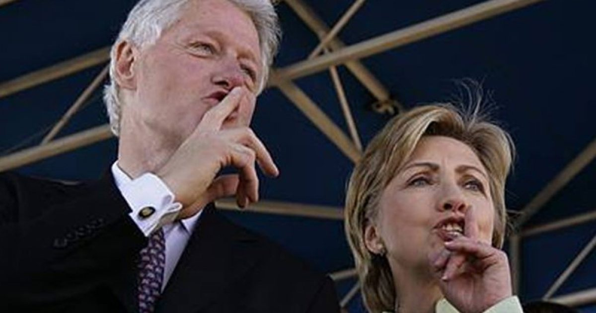 Clintons go down, Hillary plea deal; #KevinJackson