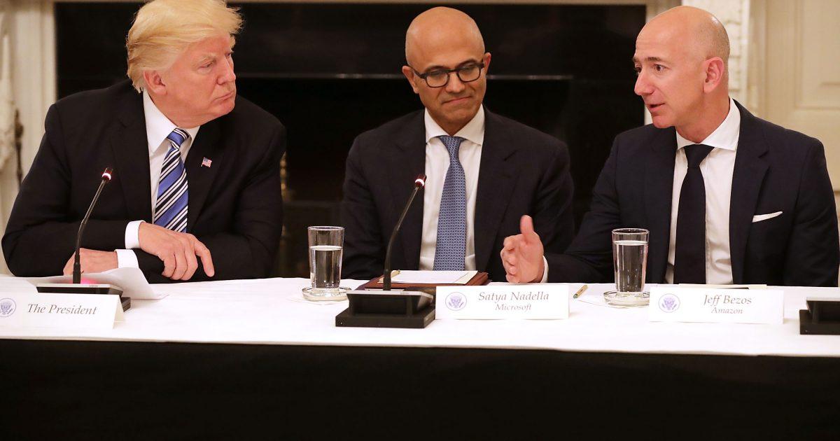 Trump slashes the value of Amazon; #KevinJackson