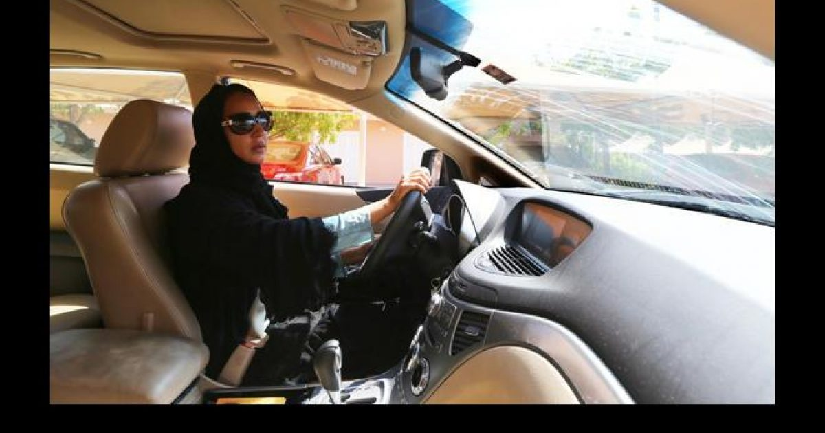 Saudi Arabian women permitted to drive