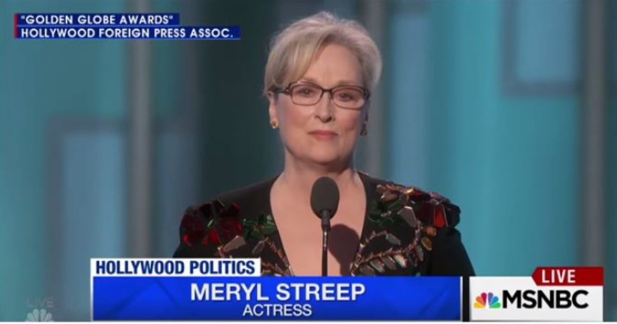 Meryl Streep in hiding
