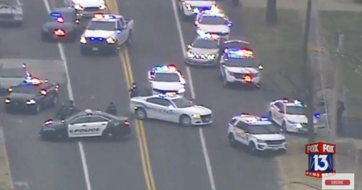 Two Police Officers Shot Near Ferguson [VIDEO]