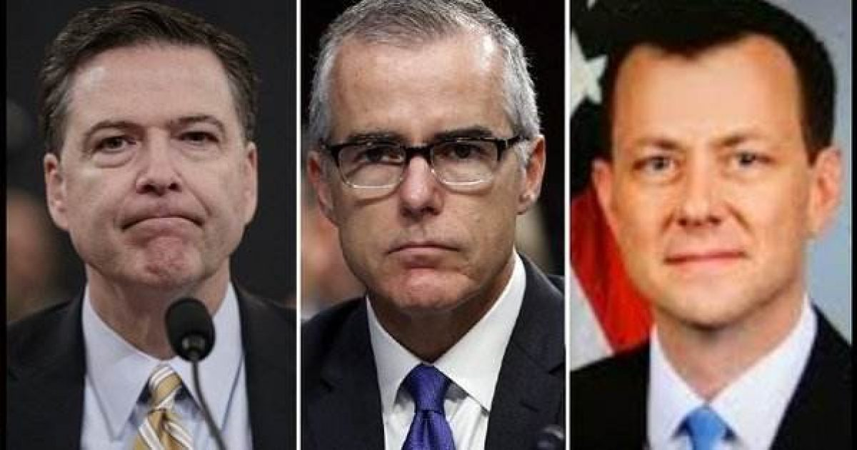 McCabe, Strzok, whistleblower, arrest, TeamKJ, KevinJackson