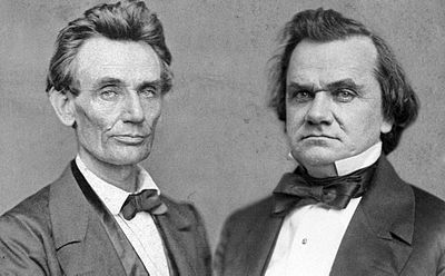 The Lincoln Douglas debate