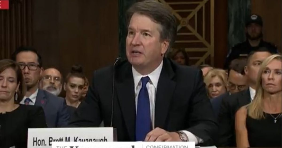 Kavanaugh Slams Hearing