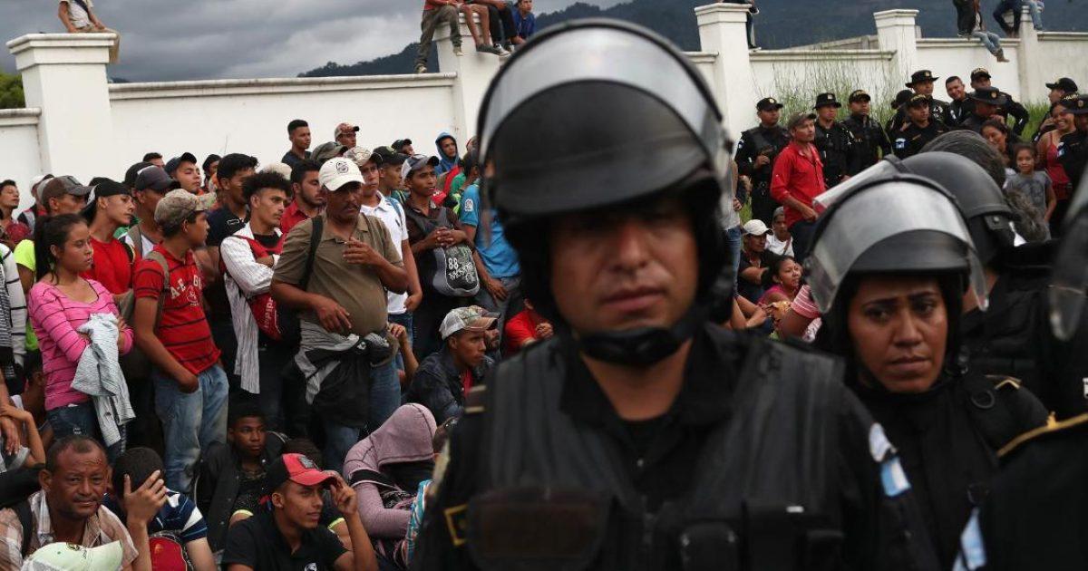 Honduran caravans; #TeamKJ; #KevinJackson
