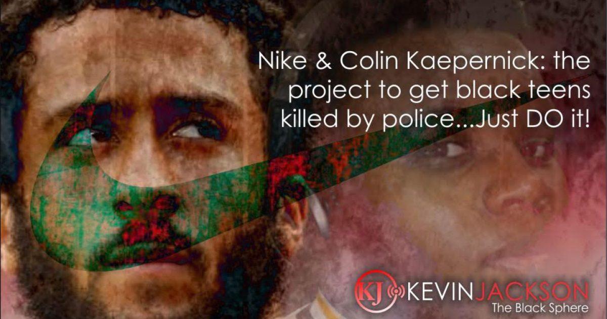 Racist Nike Ad Campaign with Kaepernick Backfiring BIG