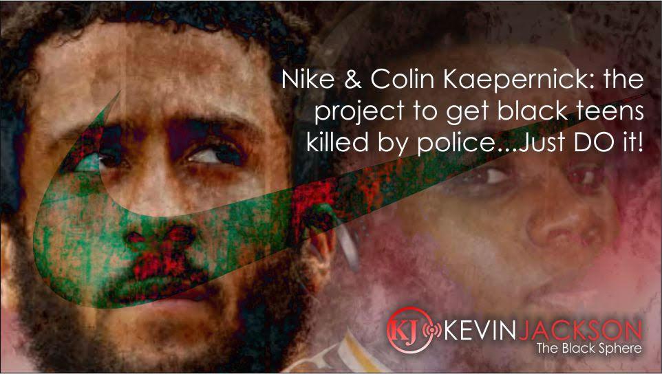 Nike ad campaign; #TeamKJ; #KevinJackson