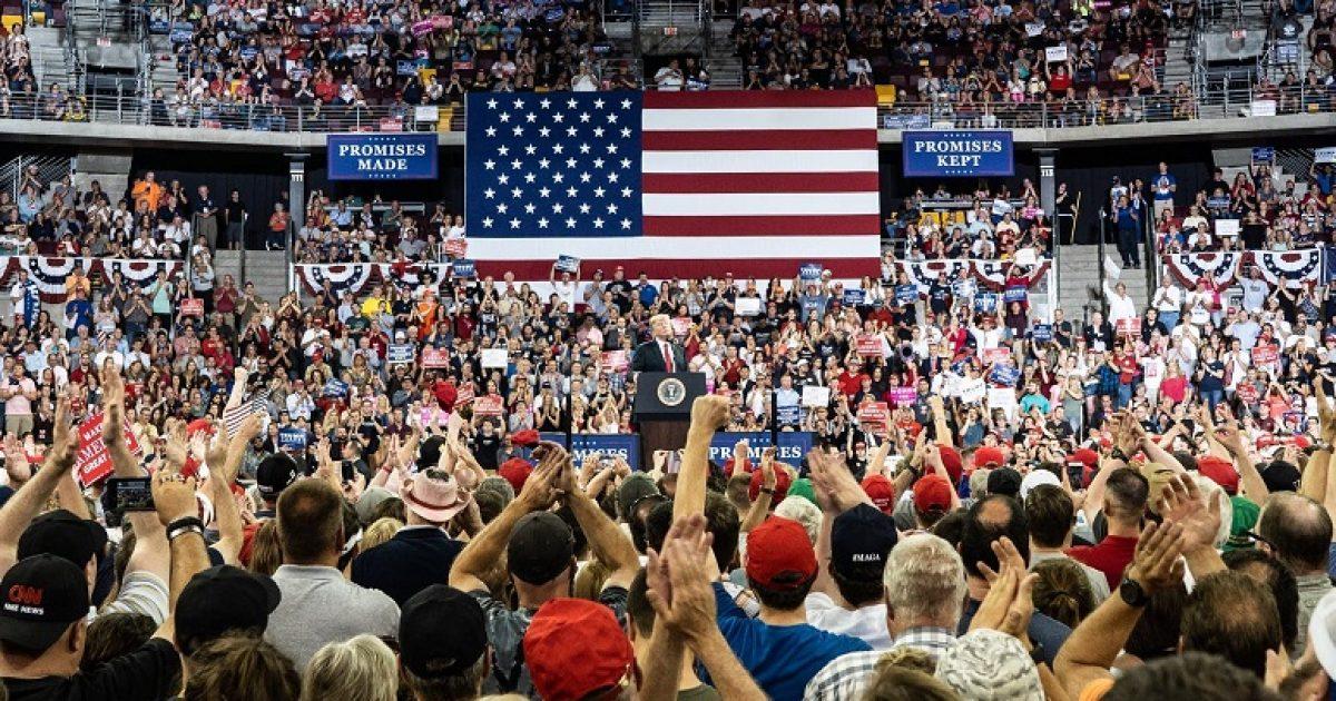 Trump rally, Van Drew, TeamKJ, KevinJackson