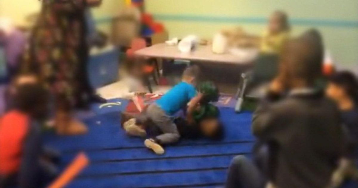 daycare fight club