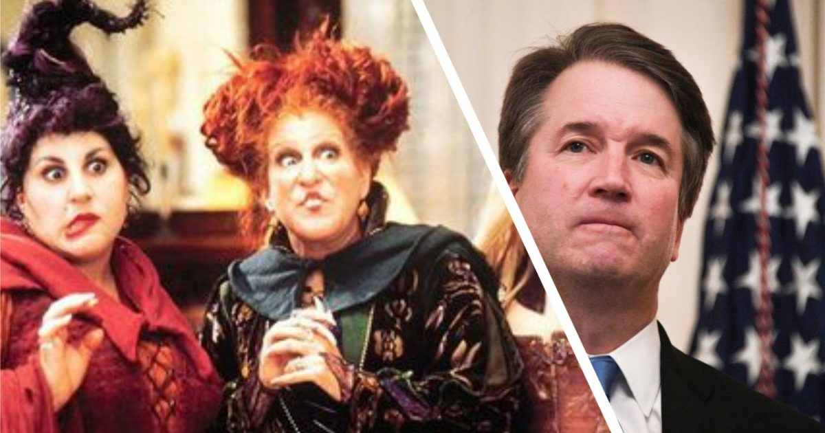 Witches Hex Kavanaugh; #TeamKJ; #KevinJackson