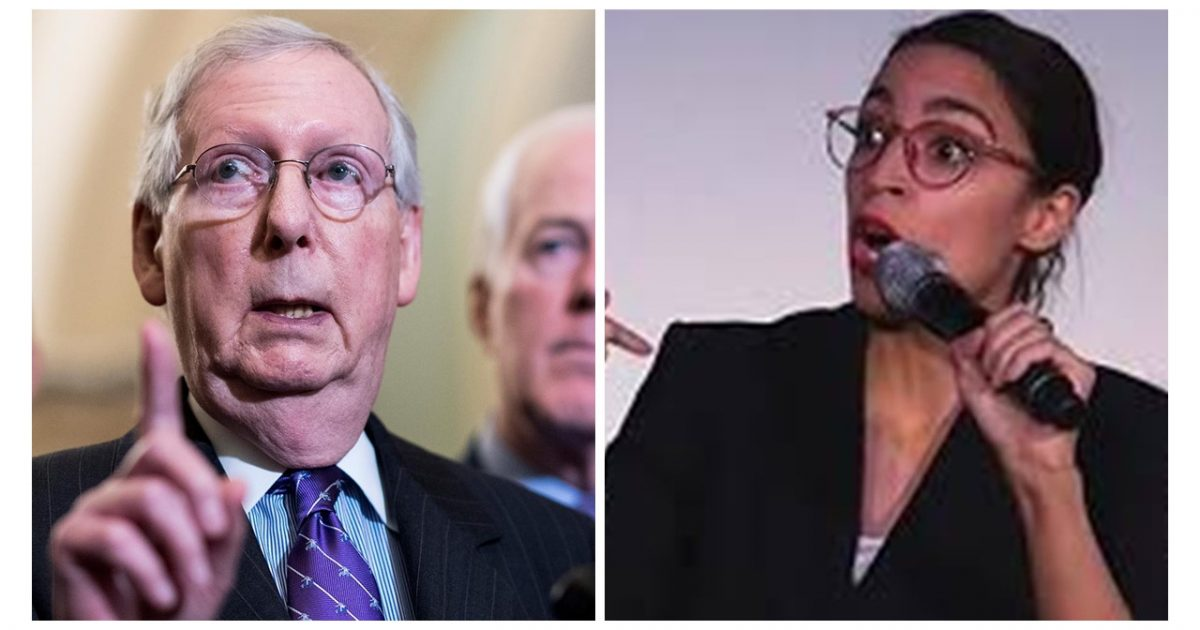 AOC, McConnell, Green New Deal, #TeamKJ, #KevinJackson