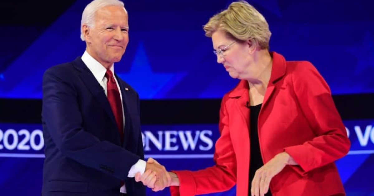 Biden attacks Warren, #TeamKJ, #KevinJackson