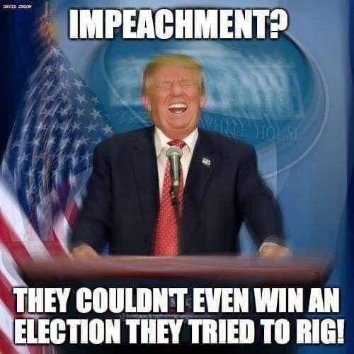 Trump, impeachement, TeamKJ, #KevinJackson