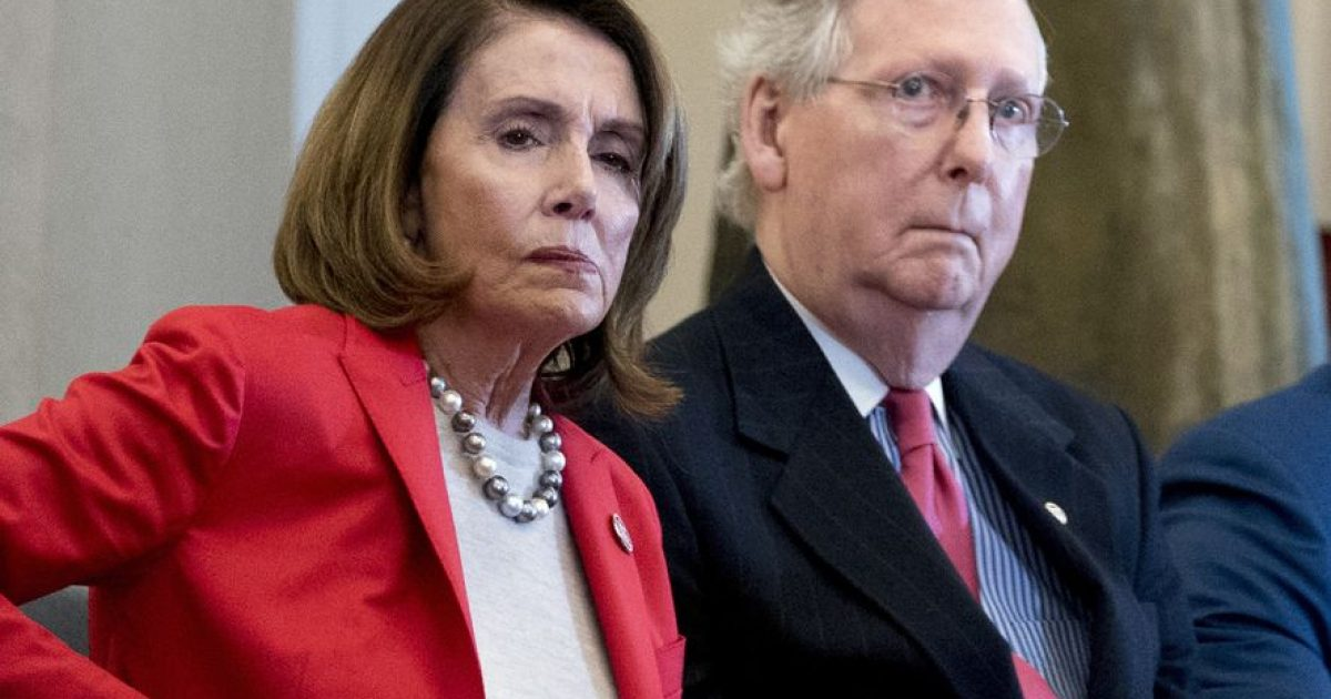 congress, bipartisan, McConnell, Pelosi, #TeamKJ, #KevinJackson