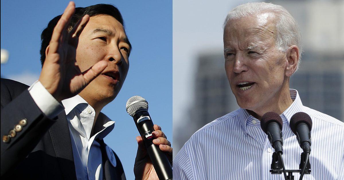 Yang, Biden, Colored candidate, #TeamKJ, #KevinJackson