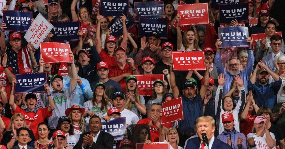 Press, media, Trump, crowd, TeamKJ, KevinJackson