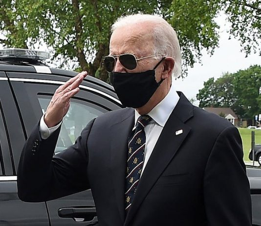 Biden, mask, racism, #TeamKJ, #KevinJackson