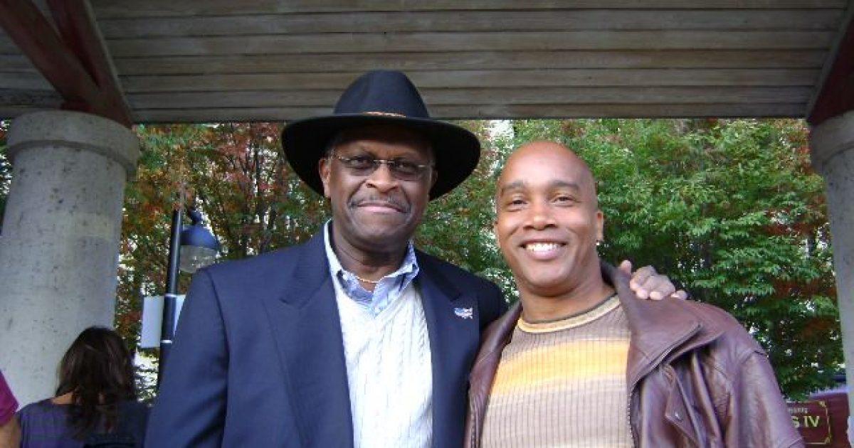 Herman Cain, Kevin Jackson. #TeamKJ
