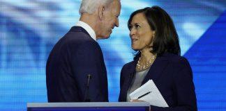 Biden, Harris, #TeamKJ, #KevinJackson