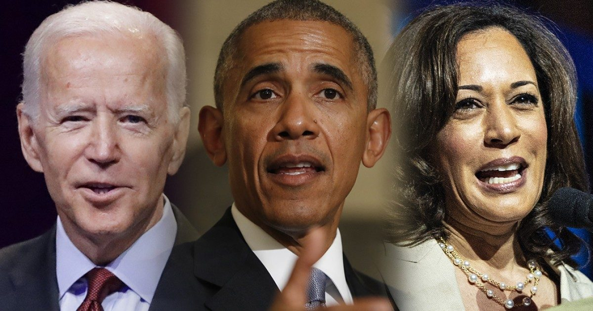 Biden, Obama, Harris, #TeamKJ, #KevinJackson