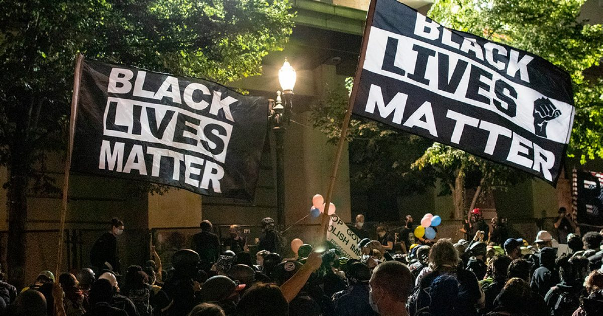 Portland Protests, TeamKJ, KevinJackson