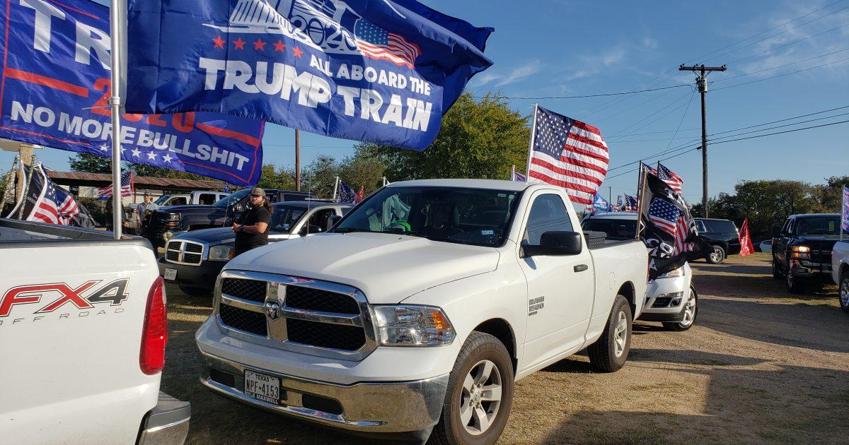 Trump, rally, parade, TeamKJ, Kevin Jackson