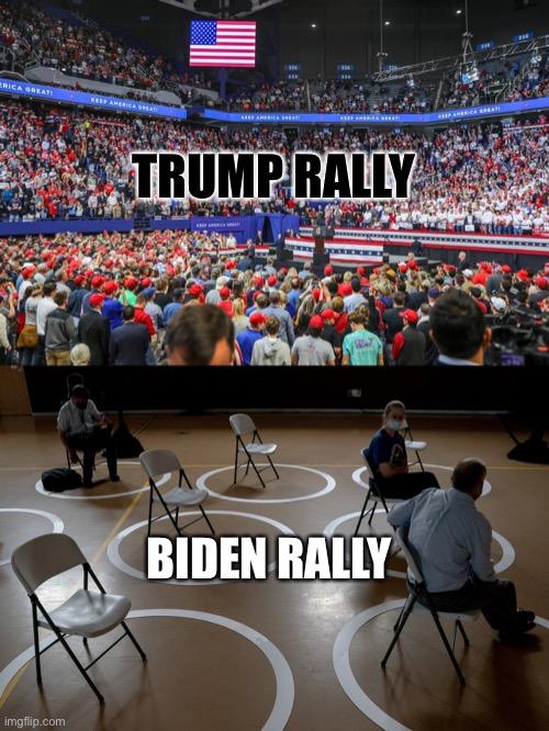 Trump, Biden, rally, TeamKJ, Kevin Jackson