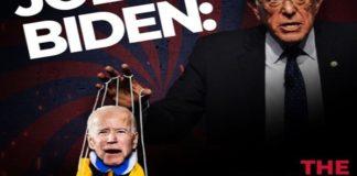 Sanders, Biden, puppet, TeamKJ, Kevin Jackson