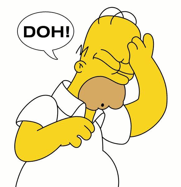 Homer Simpson, doh, Kevin Jackson