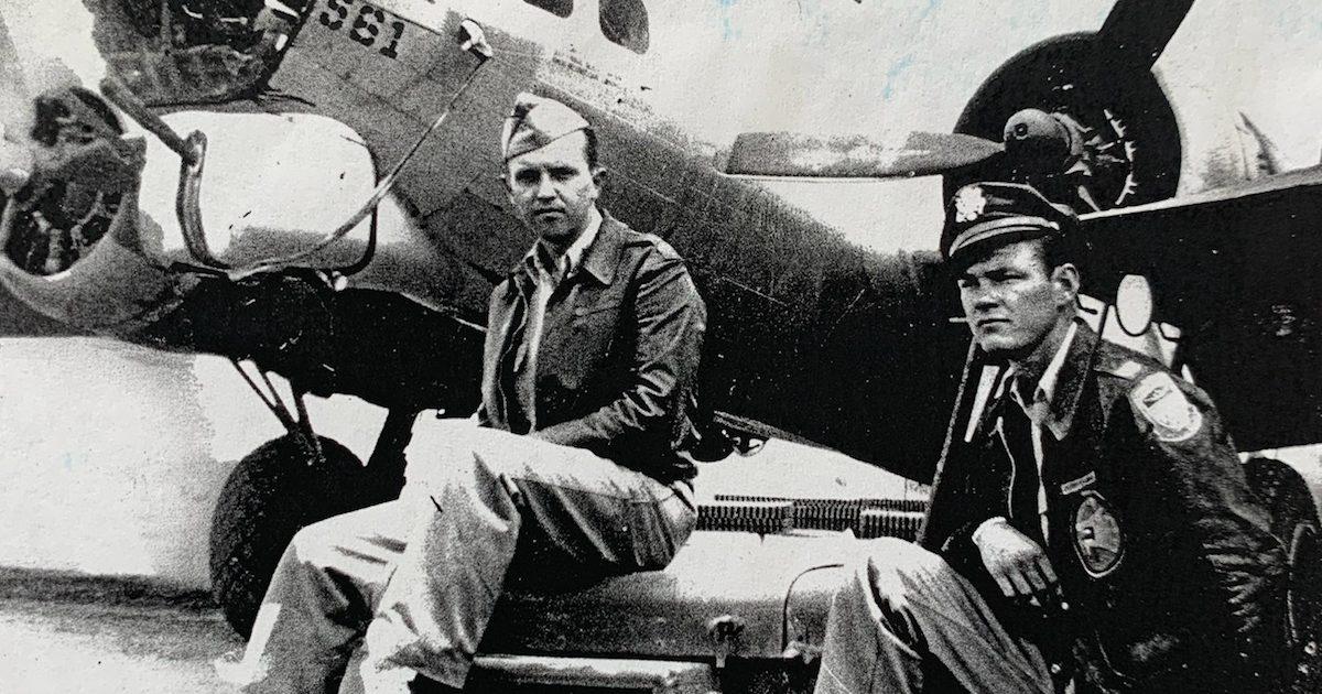 Veteran, Kevin Jackson, WWII