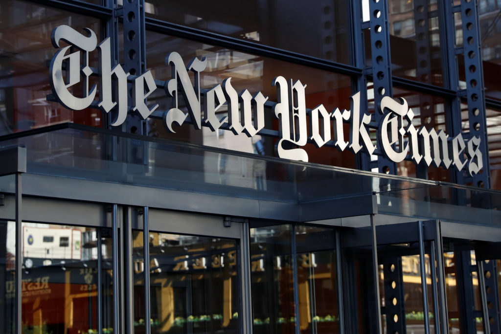 NY Times QUIETLY Changes one of their Fake News Stories
