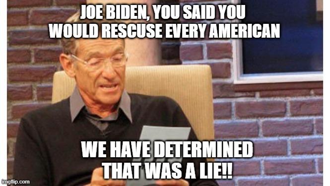 Biden, Lie, Kevin Jackson, Maury Povich