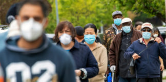 masked people, masks, mandate, Kevin Jackson